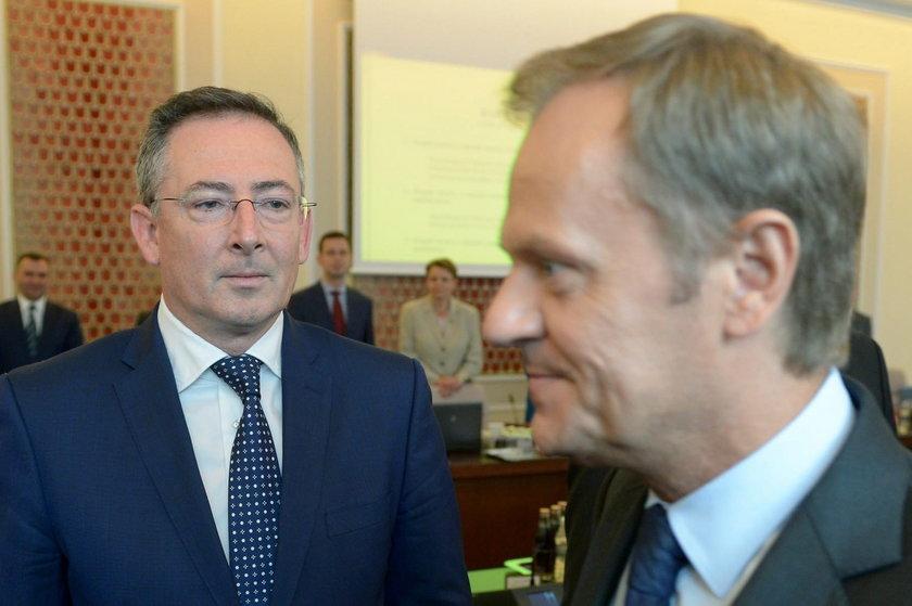 Sienkiewicz z Tuskiem