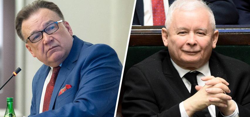 Polityk zamieścił szokujące zdjęcie Kaczyńskiego. Teraz za to odpowie