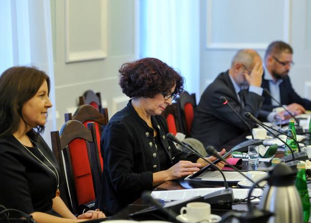 Członkowie RMN: Joanna Lichocka, Elżbieta Kruk, Juliusz Braun i Grzegorz Podżorny, PAP/Marcin Obara