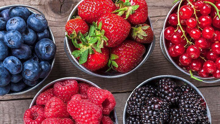 Berries are loaded with zinc which is essential for sex both in men and women [Everyday Health]