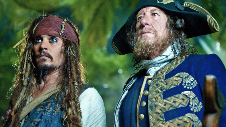 Piraci Depp i Rush na nieznanych wodach