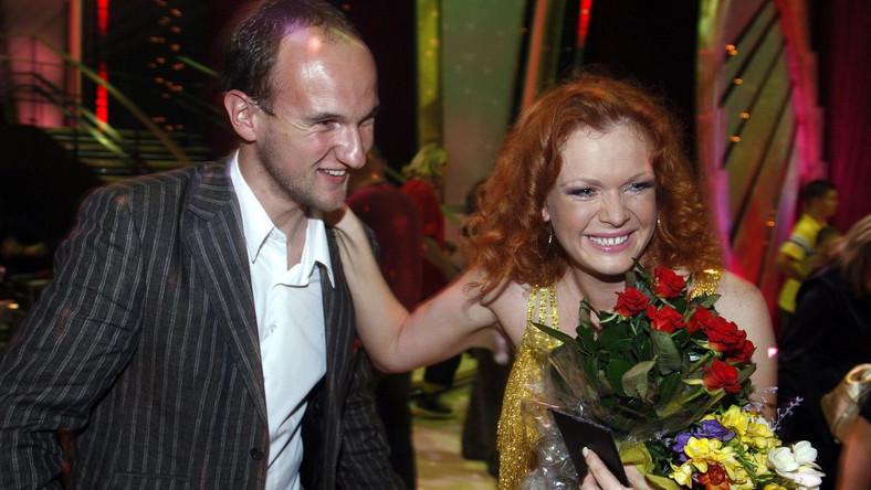 Daria Widawska z mężem Michałem