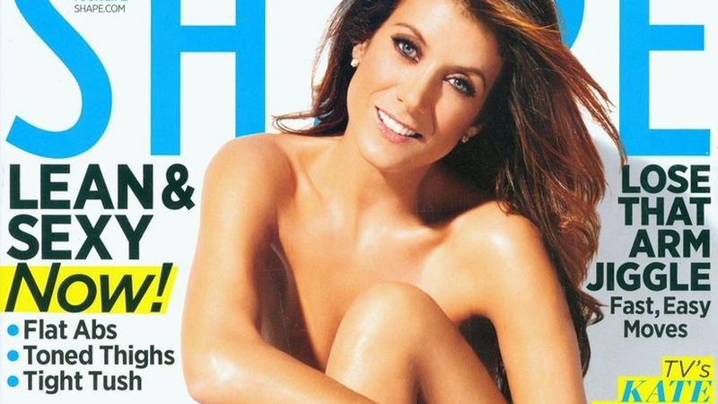 "Kate Walsh na okładce ""Shape"" (fot. East News)"