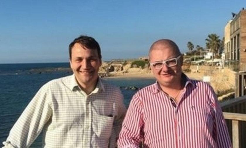 Sikorski i Kamiński przypadkowo spotkali się w Izraelu