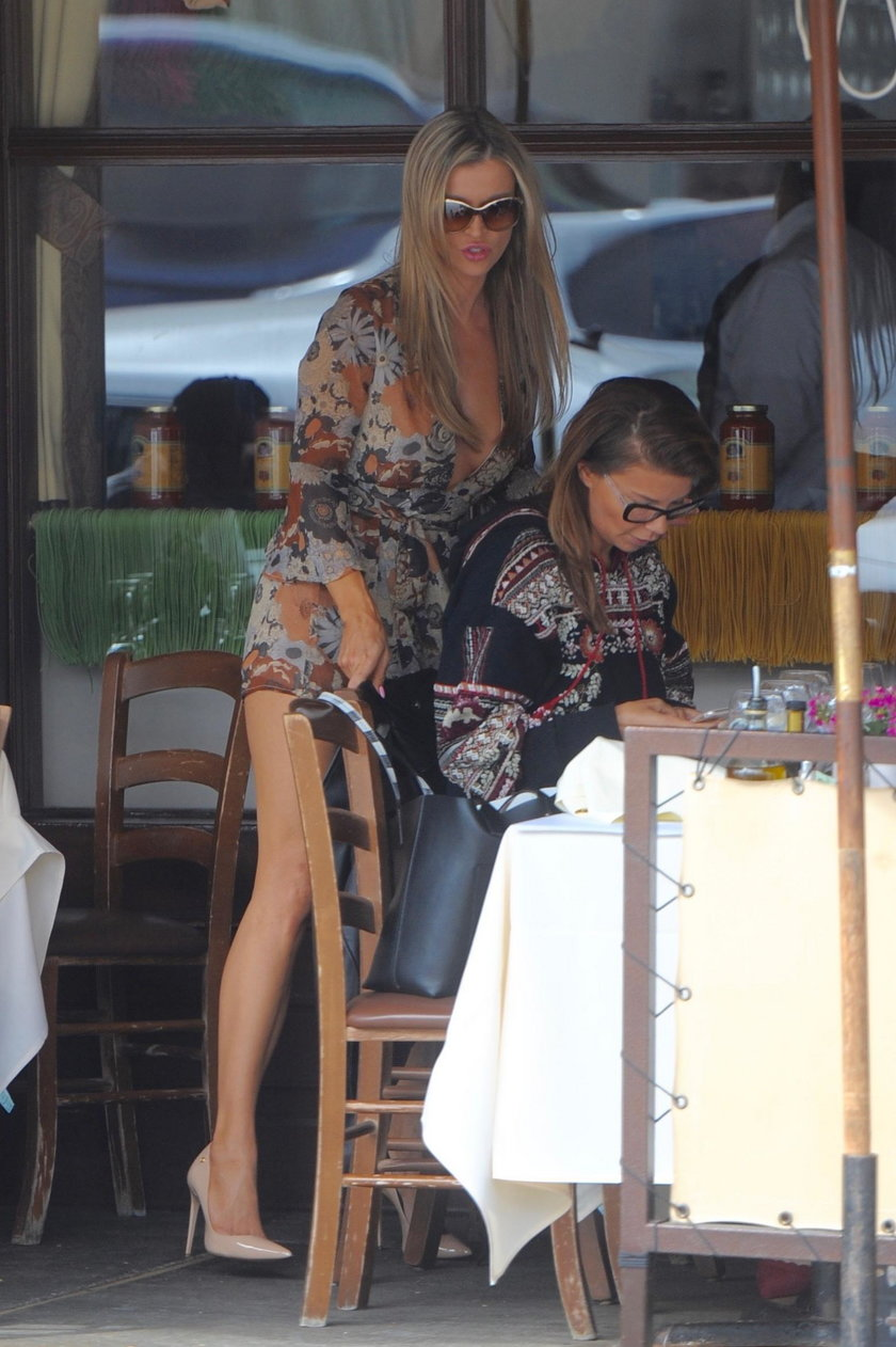 Joanna Krupa z Edytą Górniak w Los Angeles