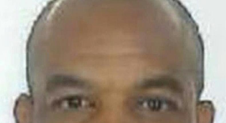 Khalid Masood (aka Adrian Elms, Adrian Russell Ajao), the 52-year-old Briton who carried out the terror attack at outside the British parliament, in an image released by the Metropolitan Police Service in London on March 24, 2017