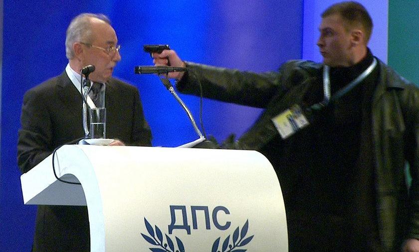 Zamach na szefa partii bułgaria