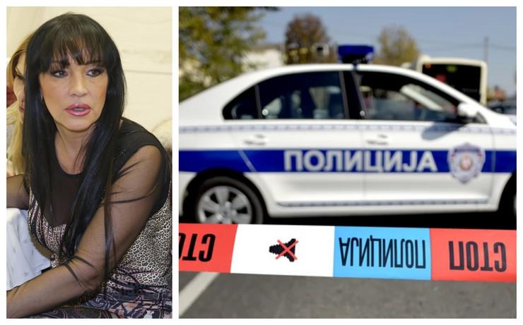 KARAMBOL U SURČINU Auto registrovan na pevačicu Gordanu Božinovsku pronađen prevrnut pored puta