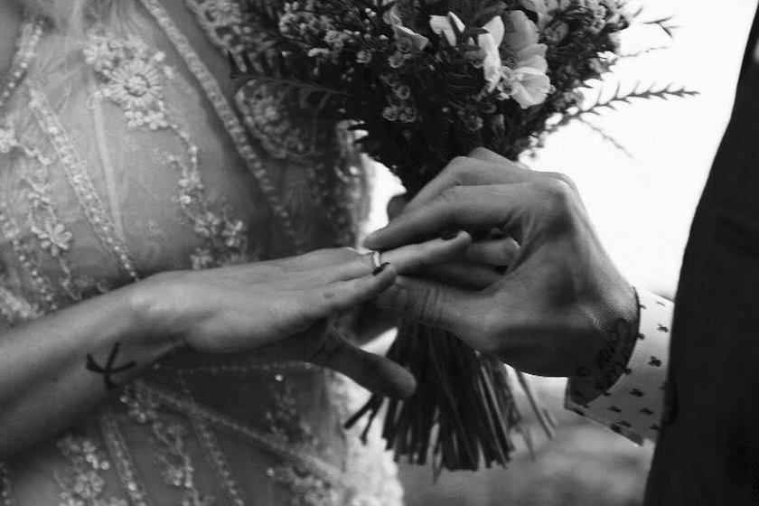 Zdjęcie ze ślubu Anity Lipnickiej