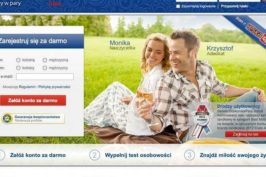 DoskonalaPara.pl portal randkowy w konkursie. Randka w