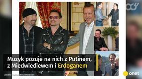 Politycy i internauci reagują na słowa Bono o Polsce