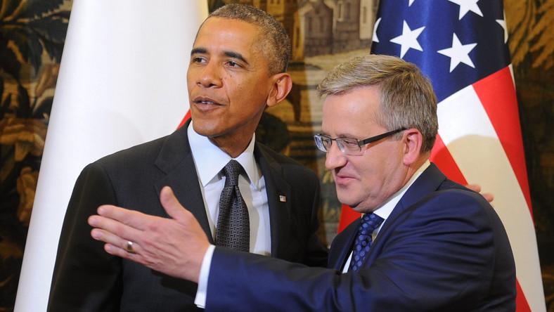 Obama w Warszawie. Komorowski: Toast za wolność i solidarność