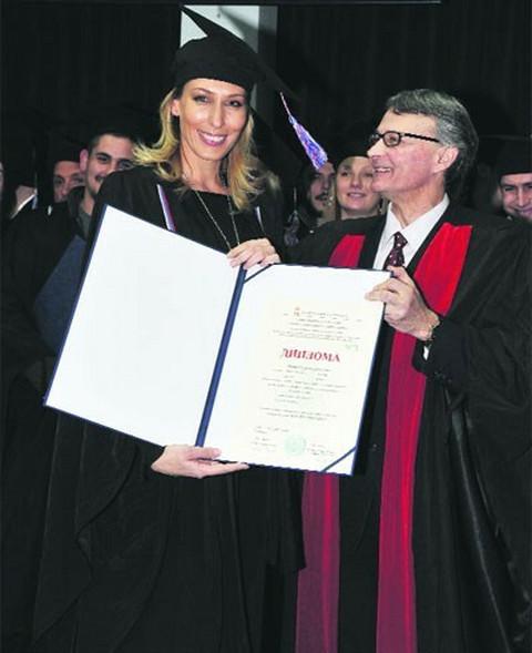 Aleksandra Perović završila i master studije