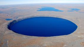 Jezioro Pingualuk. Krystaliczne Oko