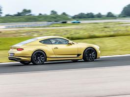 Bentley Continental GT Speed – władca lewego pasa