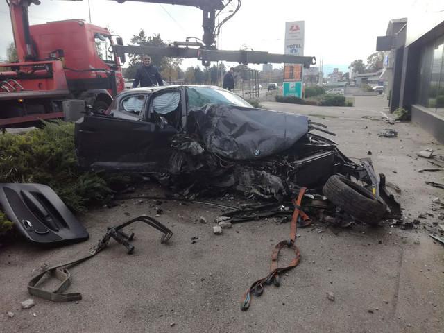 Fotografije sa mesta nesreće u Nišu