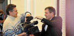 Minister Piechociński zabrał dziennikarzom kamerę i...