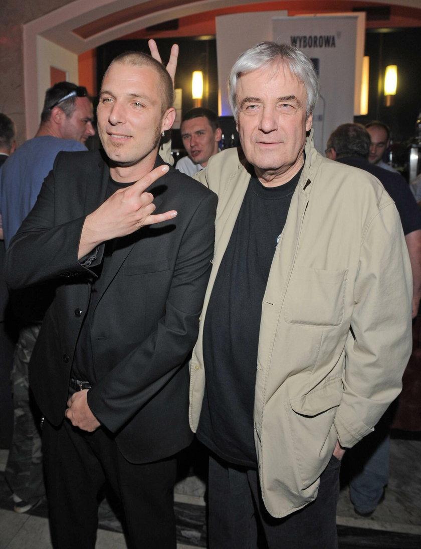 Xawery Żuławski z ojcem