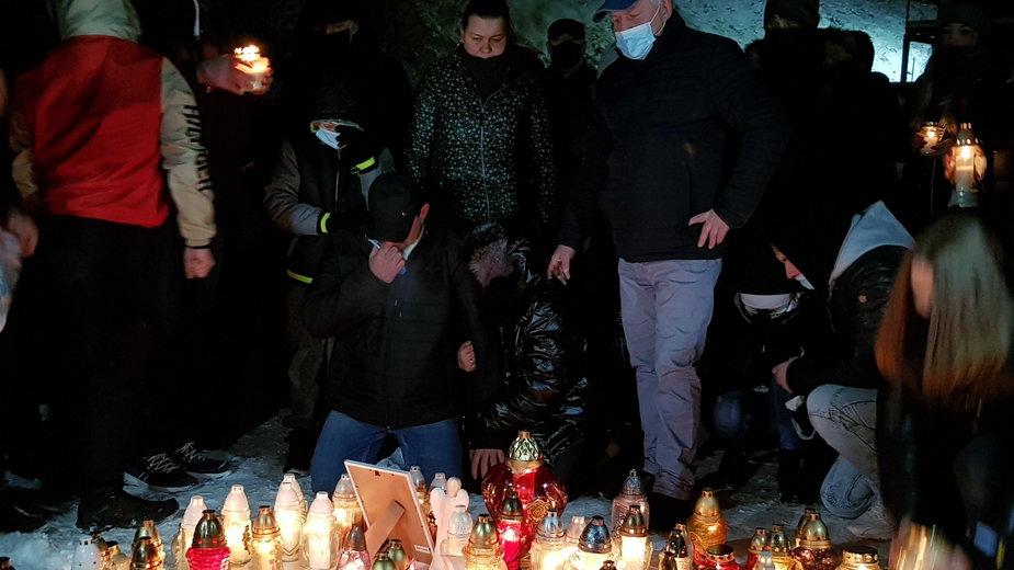 Mieszkańcy Piekar upamiętniają 13-letnią Patrycję