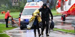Piorun poraził turystów w Tatrach. Dlaczego nie było alertu RCB?