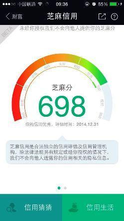 Licznik punktów w aplikacji Alibaby