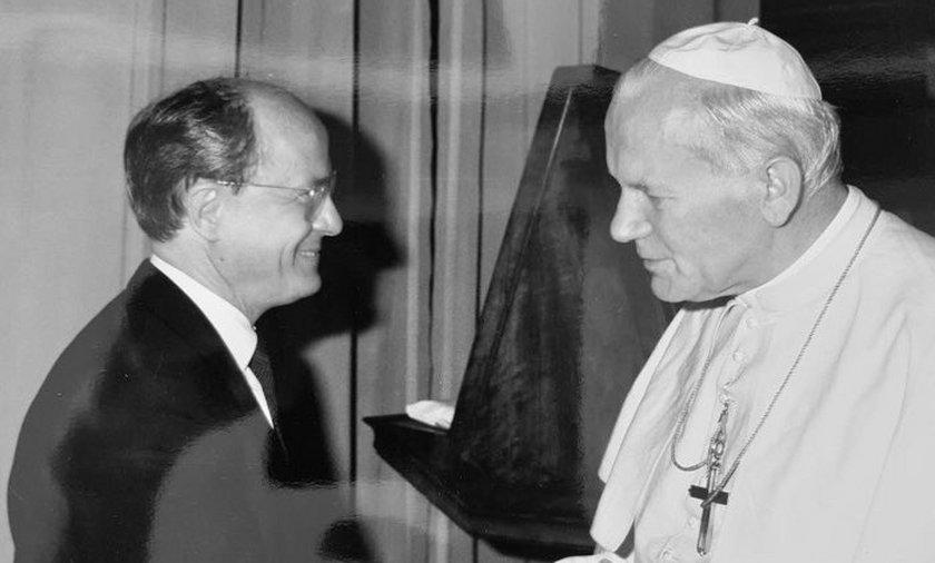 Josef Pawliczek i Jan Paweł II