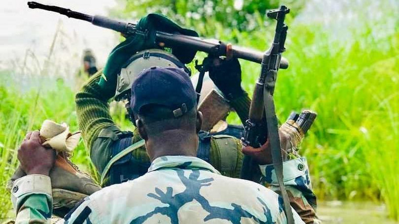 Military destroys more terrorists' structures, kills several fighters in Borno. [Twitter@Chiefojukwu]