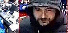 Poznajesz go? Napadł z nożem na sklep w Bielsku-Białej. Policja wyznaczyła za niego nagrodę