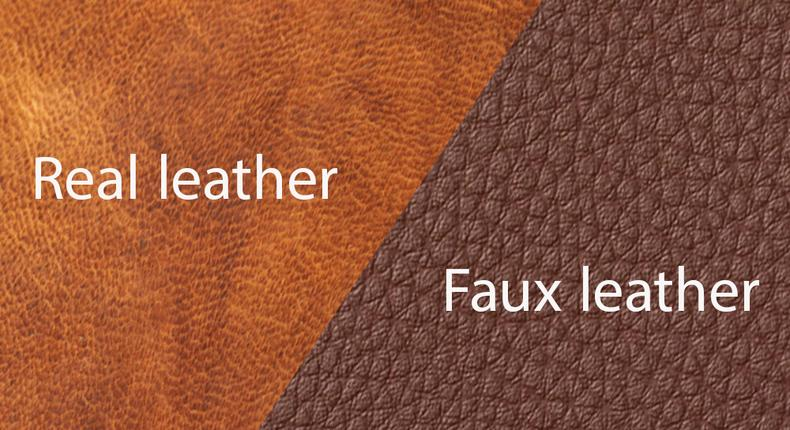Spotting fake leather(New House Design)