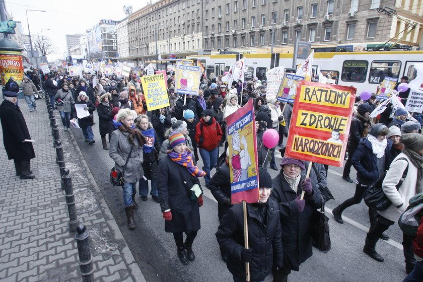 Manifa przejdzie ulicami stolicy