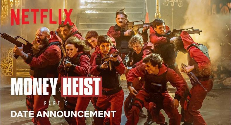 'Money Heist' part five teaser [Netflix]
