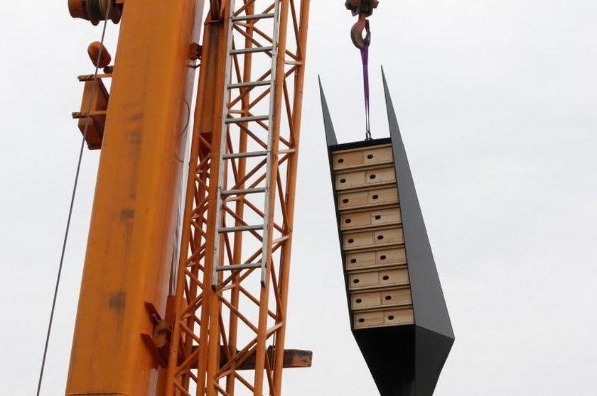 W Gdańsku stanęły wieże lęgowe dla jerzyków