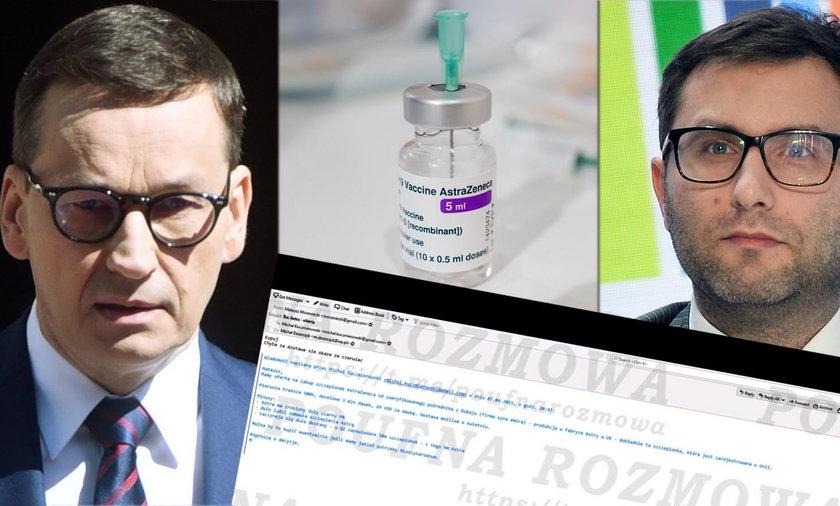 Rząd planował zakup szczepionek od pośrednika z Dubaju?