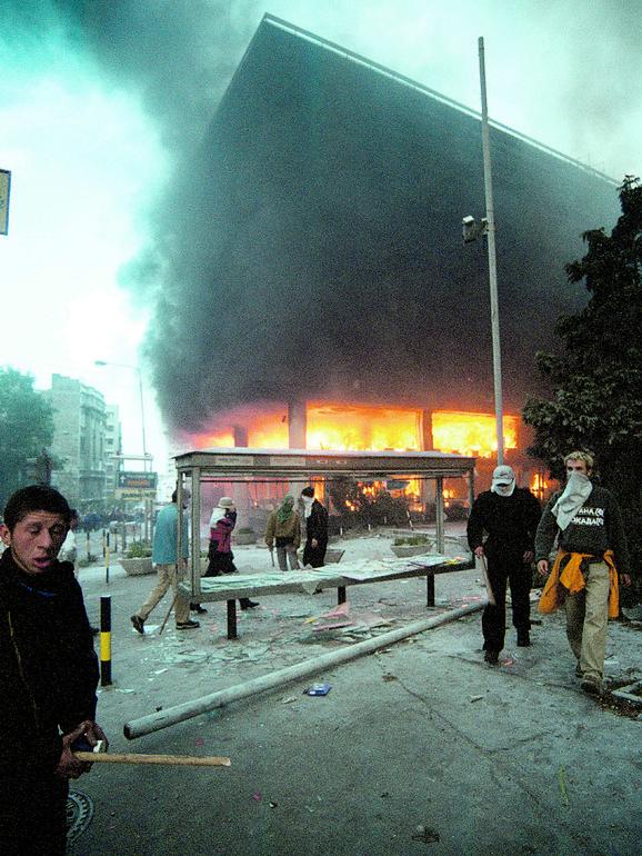 Proganja nas neprevladana prošlost: Zgrada RTS-a 5. oktobra
