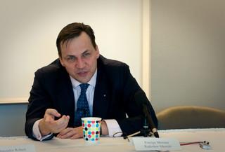Sikorski: Polska powinna przystąpić do prokuratury europejskiej
