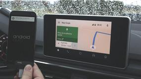 Android Auto w nowym Audi A4 – rzut oka