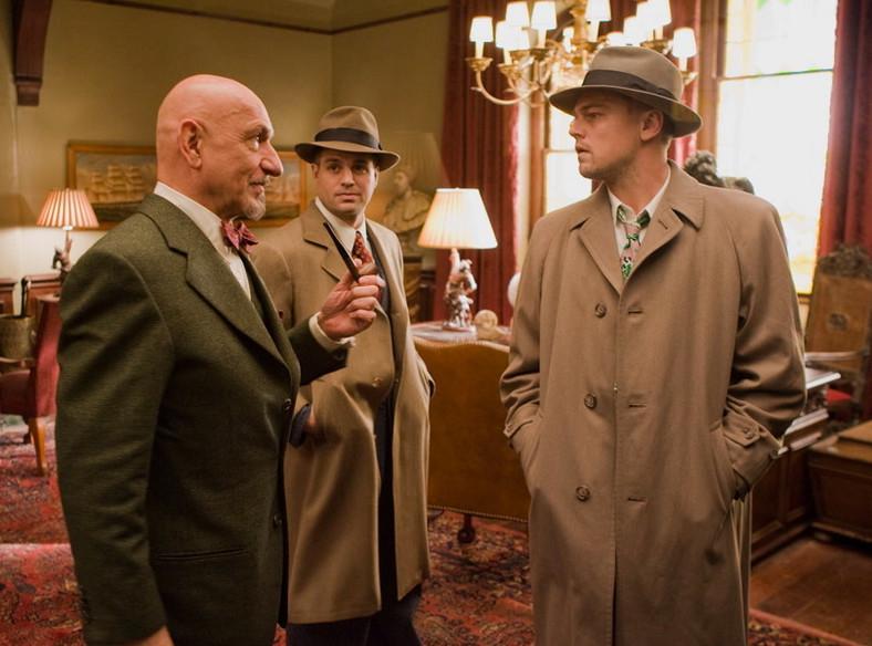 "Ben Kingsley, Mark Ruffalo, Mark Ruffalo i Leonardo DiCaprio w ""Wyspie tajemnic"""