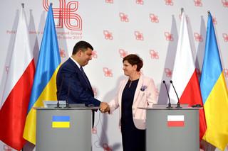 Premier Ukrainy: Partnerstwo z Polską jest dla nas strategiczne