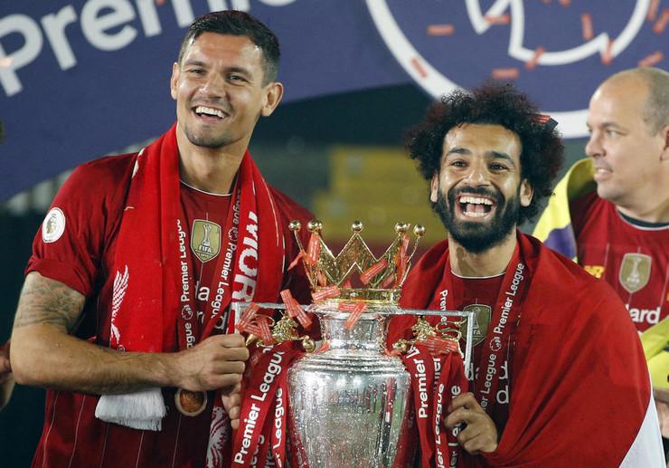 Dejan Lovren i Mohamed Salah