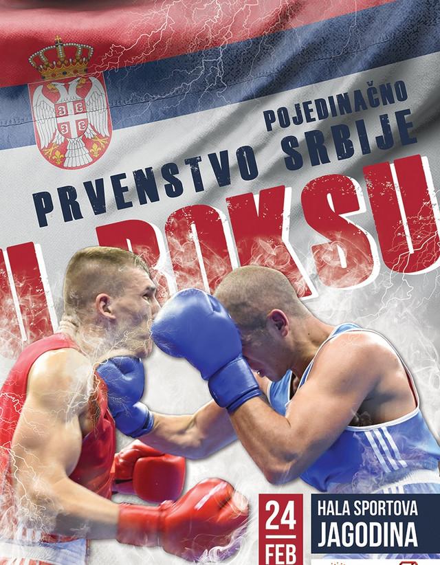 Prvenstvo Srbije u boksu održaće se u Jagodini