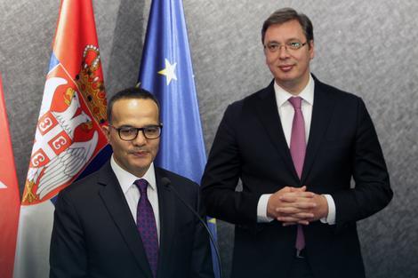 Mehmet Bozaj i Aleksandar Vučić