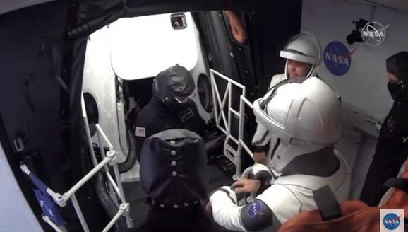 Iskusni NASA astronaut Hurley bio je i na poslednjem letu u julu 2011. godine