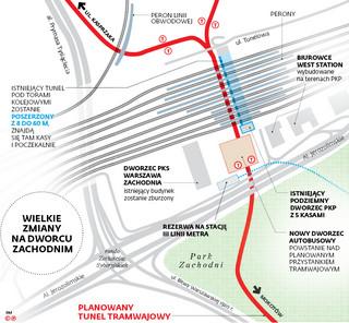 Wielkie zmiany na Dworcu Zachodnim. Autobusy zintegrowane z koleją i transportem miejskim