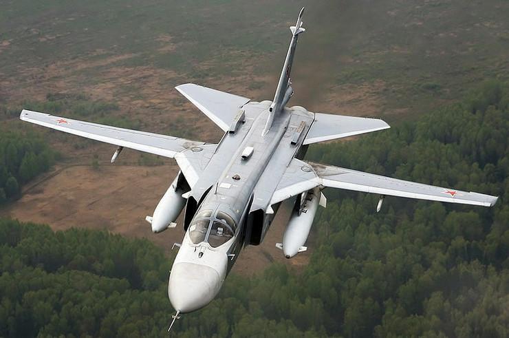 ruski bombarder suhoj Su-24