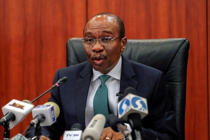 Nigeria's central bank governor Godwin Emefiele speaks during Monetary Policy Committee meeting in Abuja, Nigeria January 26, 2016.