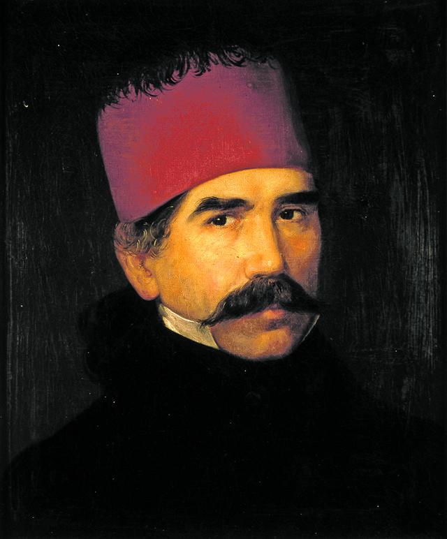 Vuk Karadžić, 1840.