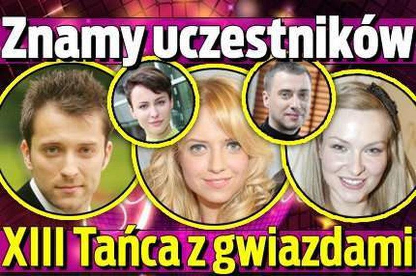 """Mamy listę uczestników XIII edycji """"Tańca z gwiazdami""""!"""