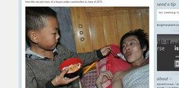7-latek opiekuje się chorym tatą