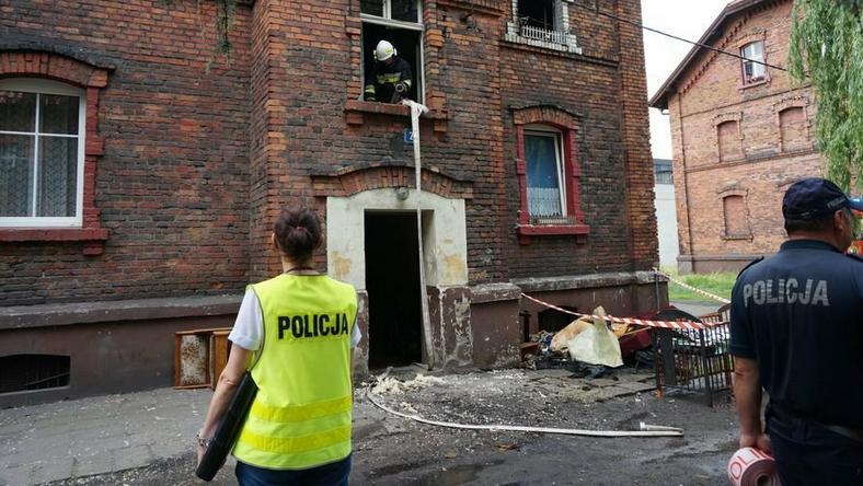 Pijany podpalił mieszkanie. Grozi mu 10 lat