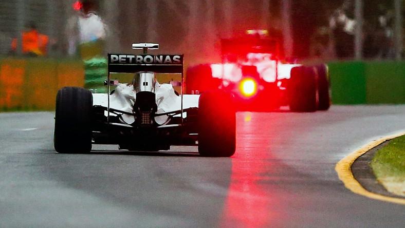 Lewis Hamilton w czasie kwalifikacji na Grand Prix Australii Formuły 1